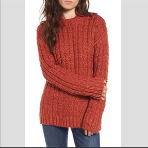 Anthropologie Sweater Moon River Chunky Cardigan
